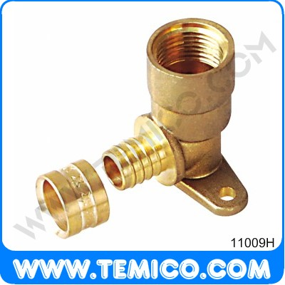 Wallplate elbow female (11009H)