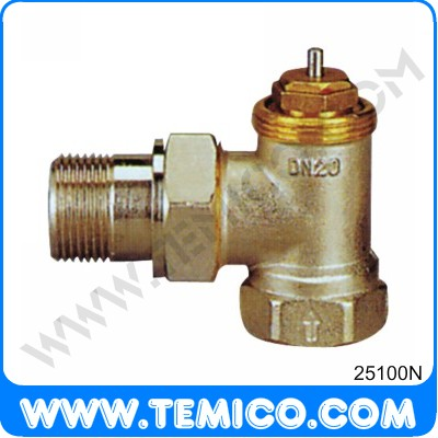 Angle valve for thermostatic (25100N)