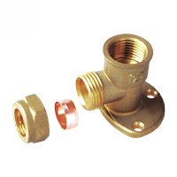 Wallplate elbow female(11329H)