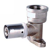 Wallplate elbow female(13309N)