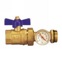 Straight valve thermometer holder(1711N)