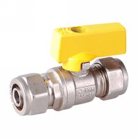 Gas valve with aluminium handle(20915-ALSY)