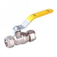 Gas valve with iron handle(20915-IBLY)