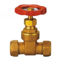Gate valve with compression end(23040H)