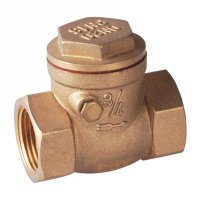 Rubber washer swing check valve(24410H)
