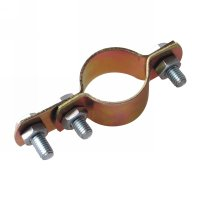 Zinc-couted iron pipe clamp(56027)